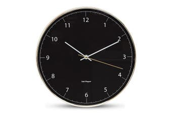 Salt&Pepper BLAIR Wall Clock - 31cm - Black