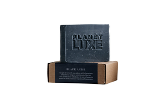 Planet Luxe Natural Artisan Crafted Soap Black Anise (130 g)