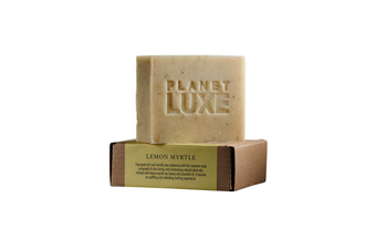Planet Luxe Natural Artisan Crafted Soap Lemon Myrtle (130 g)