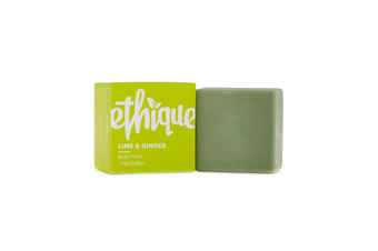 Ethique Solid Body Polish Lime & Ginger For All Skin Types (110 g)