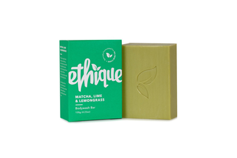 Ethique Solid Bodywash Matcha, Lime & Lemongrass (120 g)