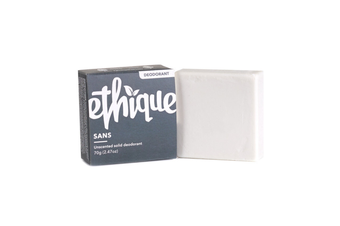 Ethique Unscented Solid Deodorant Sans For Sensitive Skin (70 g)