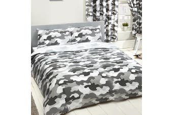 Army Camouflage Double/Queen Quilt duvet doona cover set (Double)