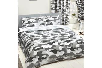 Army Camouflage Double/Queen Quilt duvet doona cover set (Queen)