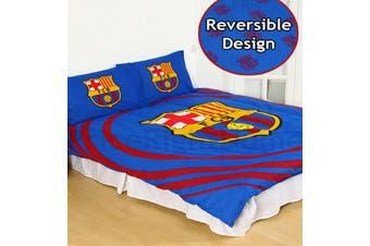 Barcelona FC Football Club Quilt duvet doona cover set (Double)