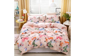 Butterfly Quilt Cover Set  (Single)