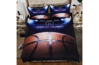 Basketball Quilt Cover Set, kids (Single)
