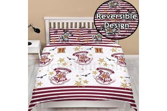 Harry Potter Double/Queen Quilt Cover Set (Double)