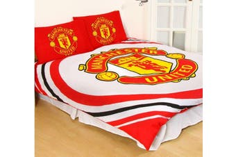 Manchester United FC Queen Quilt duvet doona cover set