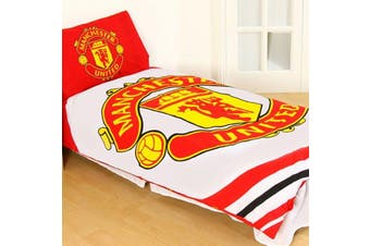 Manchester United Single Quilt Cover Set