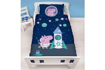 Peppa Pig Toddler Cot Junior Quilt Cover Set