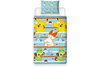 Pokemon Single Quilt Cover Set