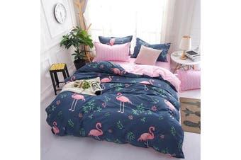 Flamingo Quilt Cover Set (King)