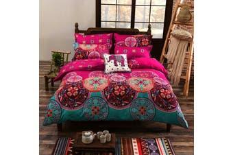 Mandala Quilt Cover Set, India oriental (Double)