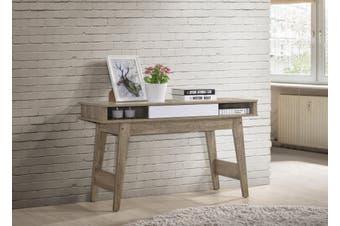 Console Table with Drawer Hallway Scandinavian - Oak