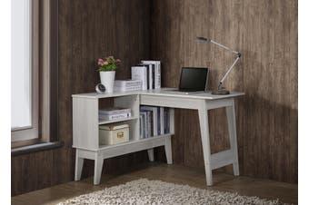 L Shaped Corner Computer Desk Laptop Table
