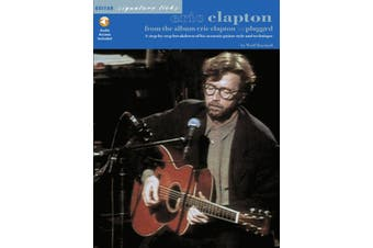 Eric Clapton - Unplugged Signature Licks TAB Book/Online Audio (Softcover Book/Online Audio)
