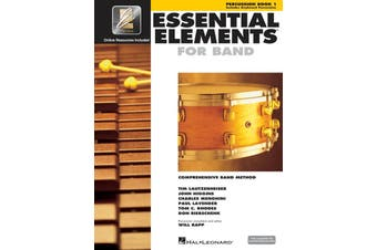 Essential Elements For Band Book 1 Percussion Eei (Softcover Book/CD-Rom)