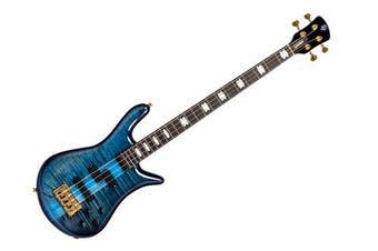 Spector Euro 4 LT w' Dark Glass Preamp Electric Bass Blue Fade