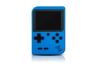 Select Mall 3 Inches Handheld Game Player Portable Retro Video Game Player Support Connecting TV and Two Players-Blue