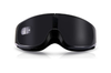Select Mall Intelligent Thermostat Steam Hot Eye Mask Air Travel Heating Eye Protection 3D Sleep Health Massage-Black