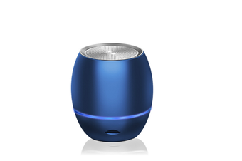 Select Mall Portable Mini Support Memory Card Bluetooth Wireless Speaker Mini Smart Audio Subwoofer-Blue