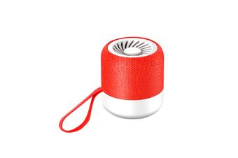 Select Mall Smart Bluetooth Speaker Subwoofer Wireless Portable Cartoon Car Model Mini Speaker-Red