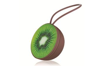 Select Mall Cartoon Fruit Bluetooth Speaker Wireless Bluetooth Speaker Outdoor Fruit Small Sound Phone Mobile Subwoofer-Green