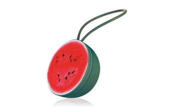 Select Mall Cartoon Fruit Bluetooth Speaker Wireless Bluetooth Speaker Outdoor Fruit Small Sound Phone Mobile Subwoofer-Red