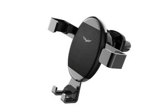 Select Mall Universal Creative Adjustable Car Phone Holder Car Navigator Car Holder Gravity Mobile Phone Bracket-Black