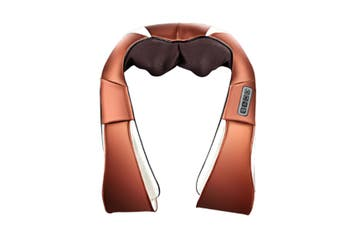 Select Mall Multi-function Massage Shawl Household Electric Kneading Car Massager Shoulder Neck Cervical Physiotherapy Instrument-Brown