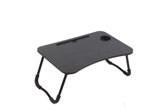 Select Mall Laptop Desk Laptop Bed Tray Table Large Foldable Laptop Notebook Stand Desk with Ipad and Cup Holder Perfect-2