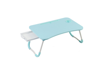 Select Mall Laptop Desk Laptop Bed Tray Table Large Foldable Laptop Notebook Stand Desk with Ipad and Cup Holder Perfect-7