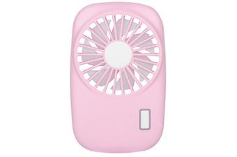 Select Mall Creative Portable Mini Ultra-thin Camera Fan Handheld Portable Silent Rechargeable USB Mini Fan-Pink