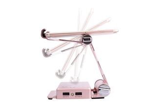 Select Mall Creative Multi-function Mobile Phone Holder Charging Treasure 2 In 1 Bracket Mobile Power Portable Charger