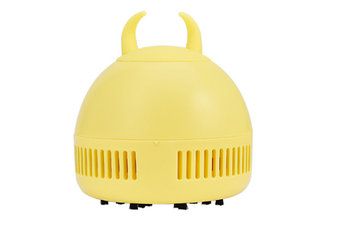 Select Mall Creative Mini Rechargeable Portable Wireless Desktop Vacuum Cleaner To Clean Desktop Keyboard-Yellow