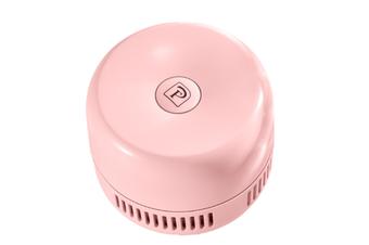 Select Mall Creative Mini Rechargeable Desktop Vacuum Cleaner Portable USB Keyboard Vacuum Mini Cleaner-Pink