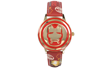 Select Mall Creative Captain America Shield Watch Flip Quartz Watch Boy Child Watch Captain America Vintage Watch-4