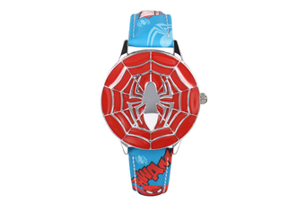 Select Mall Creative Captain America Shield Watch Flip Quartz Watch Boy Child Watch Captain America Vintage Watch-6