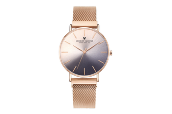 Select Mall Creative Gradient Color Ladies Watch Magnetic Mesh with Fashion Trend Quartz Watch for Women-2