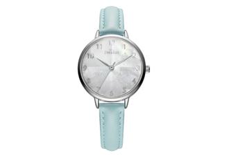 Select Mall Simple Quartz Watch Mitsubishi Mirror Waterproof Watch Fashion Trend Fashion Watch for Women-Green