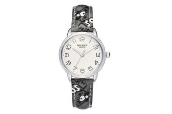 Select Mall Cute Fashion Watch Girl Child Watch Waterproof Boy Watch Mickey Mouse Quartz Watch-Black