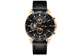 Select Mall Fashion Watches Sports Watch for Men Belt Business Calendar Waterproof Watch Casual Quartz Watch-1