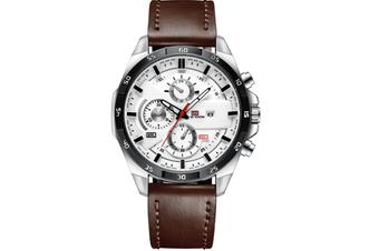 Select Mall Fashion Watches Sports Watch for Men Belt Business Calendar Waterproof Watch Casual Quartz Watch-4