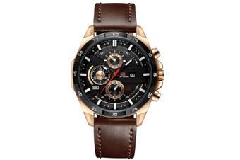 Select Mall Fashion Watches Sports Watch for Men Belt Business Calendar Waterproof Watch Casual Quartz Watch-5