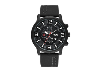 Select Mall Fashion Sports Quartz Watch Large Dial with Calendar Business Casual Watch for Men-1
