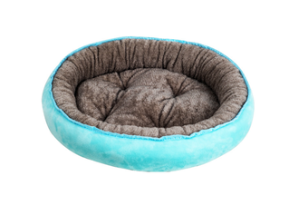Select Mall Cute 4 Seasons Universal Pet Nest Deep Sleep 4 Seasons Universal Warm Cat Litter Kennel Pet Supplies-Blue - Size M