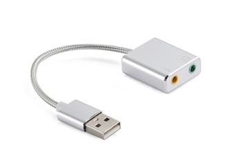 Select Mall USB Sound Card External Desktop Computer Notebook Free Drive Headset Microphone Converter Stereo