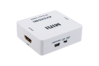 Select Mall AV To HDMI Converter HD Converter AV To HDMI Switcher TV To HD for PC Laptop Xbox TV STB VHS VCR Camera DVD