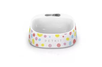 Select Mall Pet Fedding Bowl Automatic Weighing Food Dog Food Bowl Digital Feeding Bowl Stand Dog Feeder Drinking Bowls-Multi